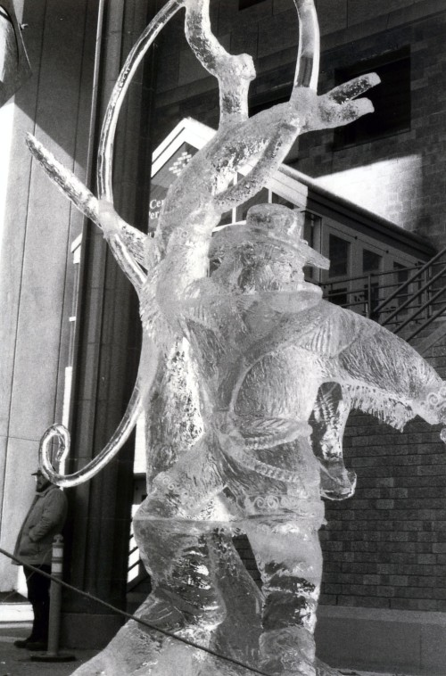 International Ice Carving Competition, Anchorage, Alaska, 1997